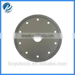 industry quality diamond turbo blade for granite, marble, concrete