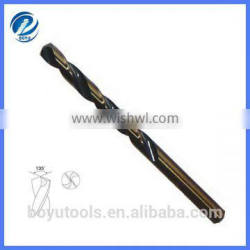 DIN338 Fully ground HSS M35 parallel shank drill bit for metal