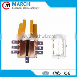 High quality best sell 7 Poles 10P box busbar for crane, hoist
