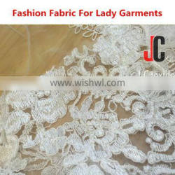 NYLON MESH EMBROIDERED High Quality fabric