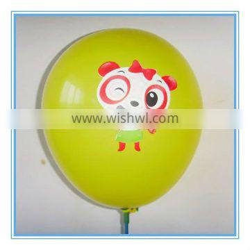 "party favor 12"" printed baloon"
