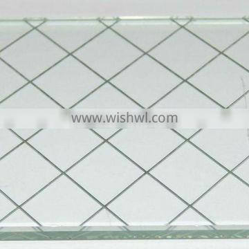 2-10mm Laminated Wired Glass(CE-EN12150 AS/NZS2208 ISO9001-2008 CCC )