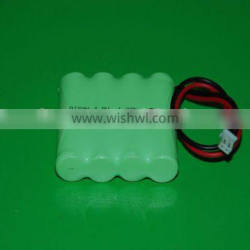4/5A 4.8v 1800mAh Ni-Mh rechargeable battery pack