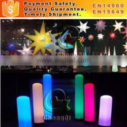 Inflatable light column party decoration inflatable cone with led light inflatable lighting tower