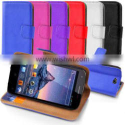 Folio Wallet House Pouch Case for Wiko Cink Peax