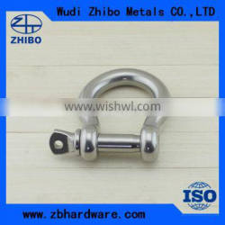 Export grade Stainless steel US type captive pin anchor shackle