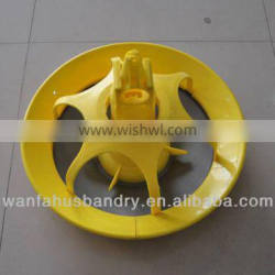advanced poultry equiment feeding system plastic duck feeder