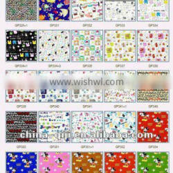 65%polyester 35%cotton printed canvas woven fabric printing