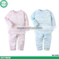 Wholesale 100% cotton good quality children clothing baby wear factory overseas