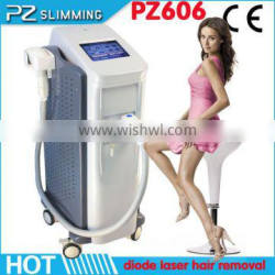Diode Laser Hair Removal Machine For Permanent Hair Bode Reduction / Laser Diode 808nm Hair Removal Machine Leg Hair Removal