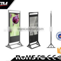 65 inch floor stand touch screen ad player tablet box portable digital signagepromotion lcd touch display small lcd display