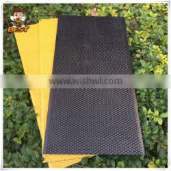 Beekeeping equipment plastic honey comb foundation sheet with beeswax