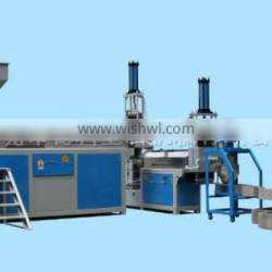 Italy hot sale HDPE/LDPE bottle double stage waste plastic recycle granulating line