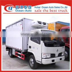 Dongfeng 3ton mini reefer truck for sale