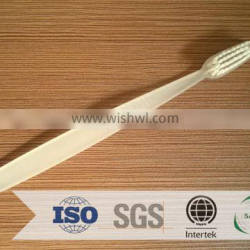 Hotel toothbrush with brand and tongue cleaner /for dubai toothpaste and toothbrush kits hotel amenities