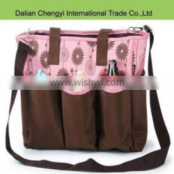 High quality wholesale classic diaper Bags with bottle holder
