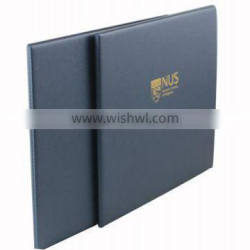 A4 diploma holder leather certificate holder
