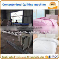 Industrial computerized single needle mattress quilting machine for sale