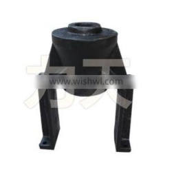 Undercarriage parts for excavator idler yoke