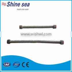 Flexible Stainless Steel Corrugated Pipe in solar water heater parts