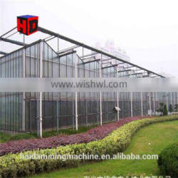 China commercial hydroponics greenhouse, polytunnel greenhouse