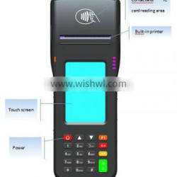 CL-0511B with function of QR Barcode GPRS, GPS,Wi-Fi, Bluetooth, Free SDK for Handheld POS Device