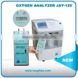 portable oxygen analyzer JAY-120 With LCD display/portable oxygen purity analyzer