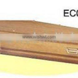 EC010 European Coffin and casket coffin lining coffin lowering device coffin models almond