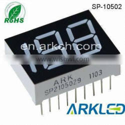 ISO14001 approval,7 segment LED Digital Display-0.5 inch 3 Digits