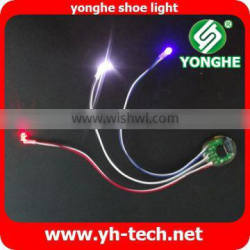 With BOLIDA battery yonghe waterproof flashing kids light up shoes sole
