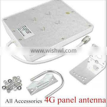 Best price 4G 698-2700MHZ Waterproof outdoor panel antenna with N/SMA connector