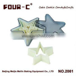 Star nylon cookie cutter set,pastry and biscuit cutters