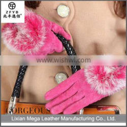 2015 Hot sale low price Leather Gloves For Women