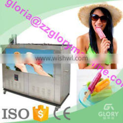 Air cooling 4 moulds ice popsicle machine/ ice lolly machine/ popsicle making machine