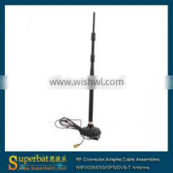 2.4GHz 9dBi Omni WIFI Antenna with extended cable RP-SMA Plug 5db wifi antenna