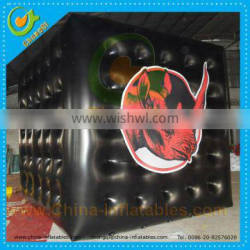 PVC advertising inflatable square helium balloon