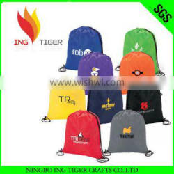 Promotion Recycled Sport Drawstring Backpack Nylon