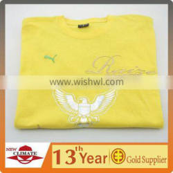 T-SHIRT WITH LASER BEAM CUTTING TRANSFER