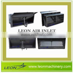 Leon broiler poultry farm shed design best air inlet for chicken made in china