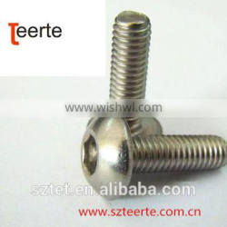Hex Socket Round Head Screws for Motocycle
