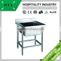 hotel restaurant high quality European style stainless steel sink