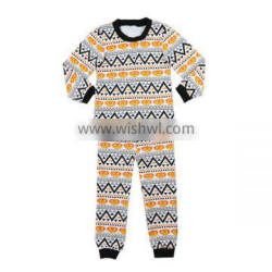 2016 kaiyo wholesale baby halloween outfits pumpkin print print pajamas clothing manufacturers wholesale children clothing usa