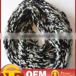 New arrival fashionable knited loop scarf OEM