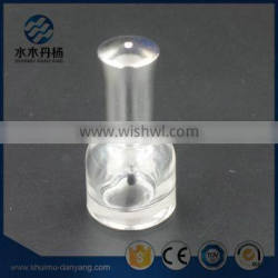 Fancy and round 10ml cap and brush sealing nail polish glass bottles