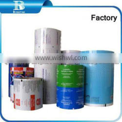 Daily wet wipes pack film