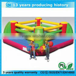 Colorful adult exciting inflatable sports game boxing prize ring
