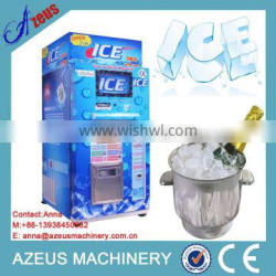 Fresh Ice Dispenser with coin and bill operated system/ice vending machine/ice vendor