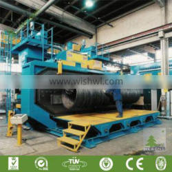 CE Approved Steel Wire Shot Blast Cleaning Machine
