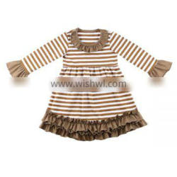 Wholesale children frock model girl dress boutique beautiful baby frock design dress