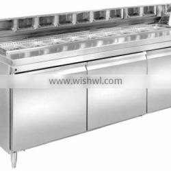 Refrigerated Pizza&Salad Prep Table(1500*750*1080mm)